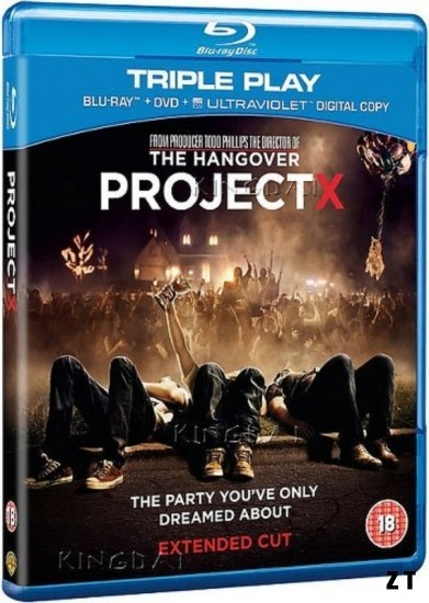 Projet X Blu-Ray 1080p French