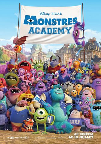 Monstres Academy DVDRIP French